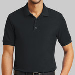 6.6 Ounce 100% Double Pique Cotton Sport Shirt