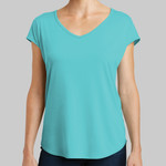 ® Women's Drapey Cross Back Tee