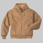 Tall Duck Cloth Hooded Work Jacket