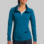 Ladies Sport Wick ® Stretch Full Zip Jacket