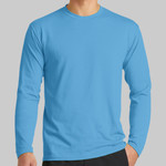 Long Sleeve Performance Blend Tee