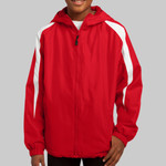 Youth Fleece Lined Colorblock Jacket