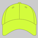 Solid Enhanced Visibility Cap