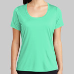 ® Ladies Posi UV ™ Pro Scoop Neck Tee