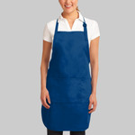 Easy Care Full Length Apron with Stain Release