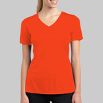 Ladies PosiCharge ® RacerMesh ® V Neck Tee