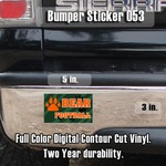 Bumper Sticker 3 x 5